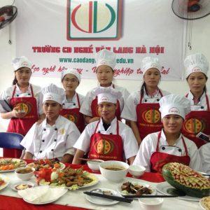 Học nấu ăn chuyên nghiệp. Trường cao đẳng nghề nấu ăn tuyển sinh 01