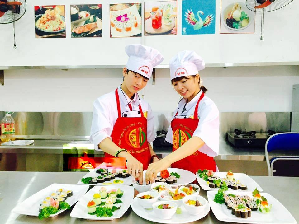 Khóa học bếp Nhật. Dạy nấu ăn món Nhật Bản 03