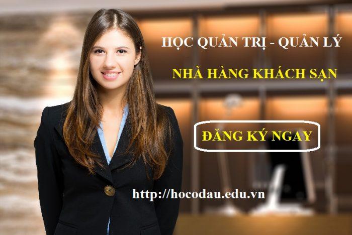 Học quản lý quản trị nhà hàng khách sạn tại Tp HCM
