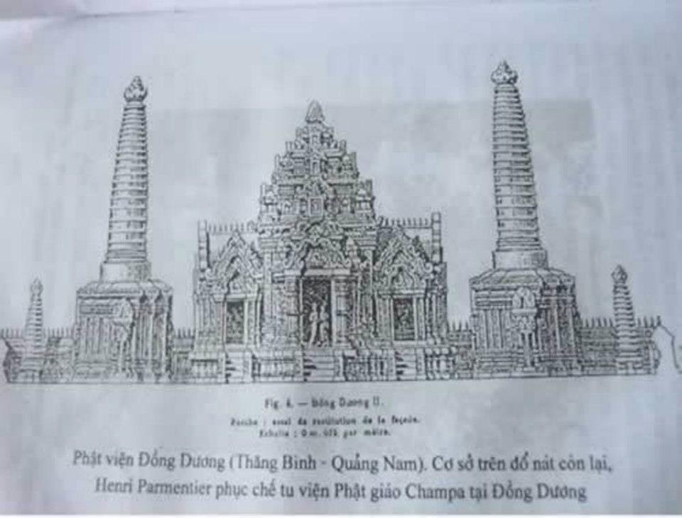 Di Tích Phật Viện Đồng Dương 01