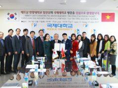 Ký kết thỏa thuận hợp tác với Đại học Kookje - Hàn Quốc 05