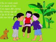 bài đồng giao chi chi chành chành