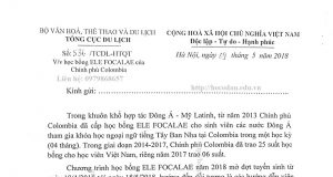 Học bổng Ele Focalae năm 2018 tại Colombia
