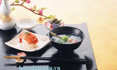 Khóa học bếp Nhật. Dạy nấu ăn món Nhật Bản 02