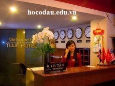 Học lễ tân khách sạn nhà hàng tại Tp HCM. Đào tạo cấp chứng chỉ nghiệp vụ Tổng cục day nghề 01