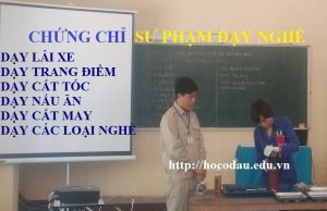 Học chứng chỉ sư phạm dạy nghề tại TPHCM 01