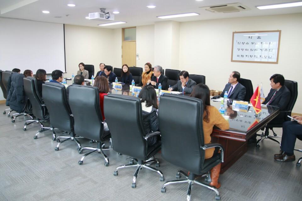 Ký kết thỏa thuận hợp tác với Đại học Kookje - Hàn Quốc 06