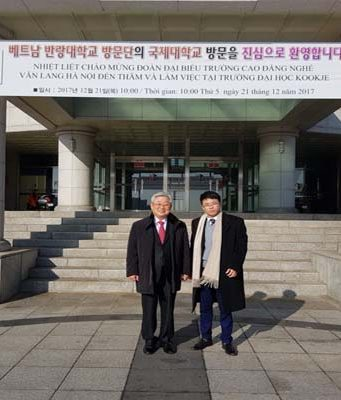 Ký kết thỏa thuận hợp tác với Đại học Kookje - Hàn Quốc 08