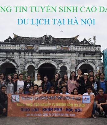Tuyển sinh cao đẳng du lịch học tại Hà Nội